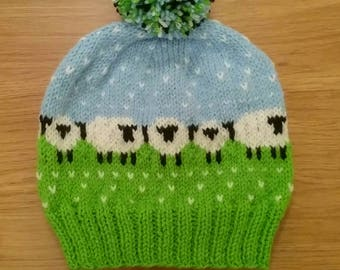Sheepie bobble hat