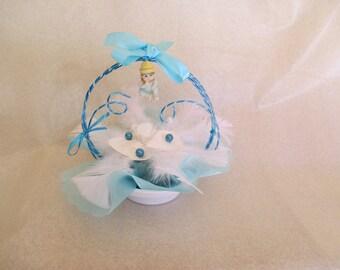 centerpiece christening or baby (boy version)