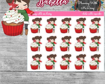 Chibi with Cupcake (Choose from 4 options)