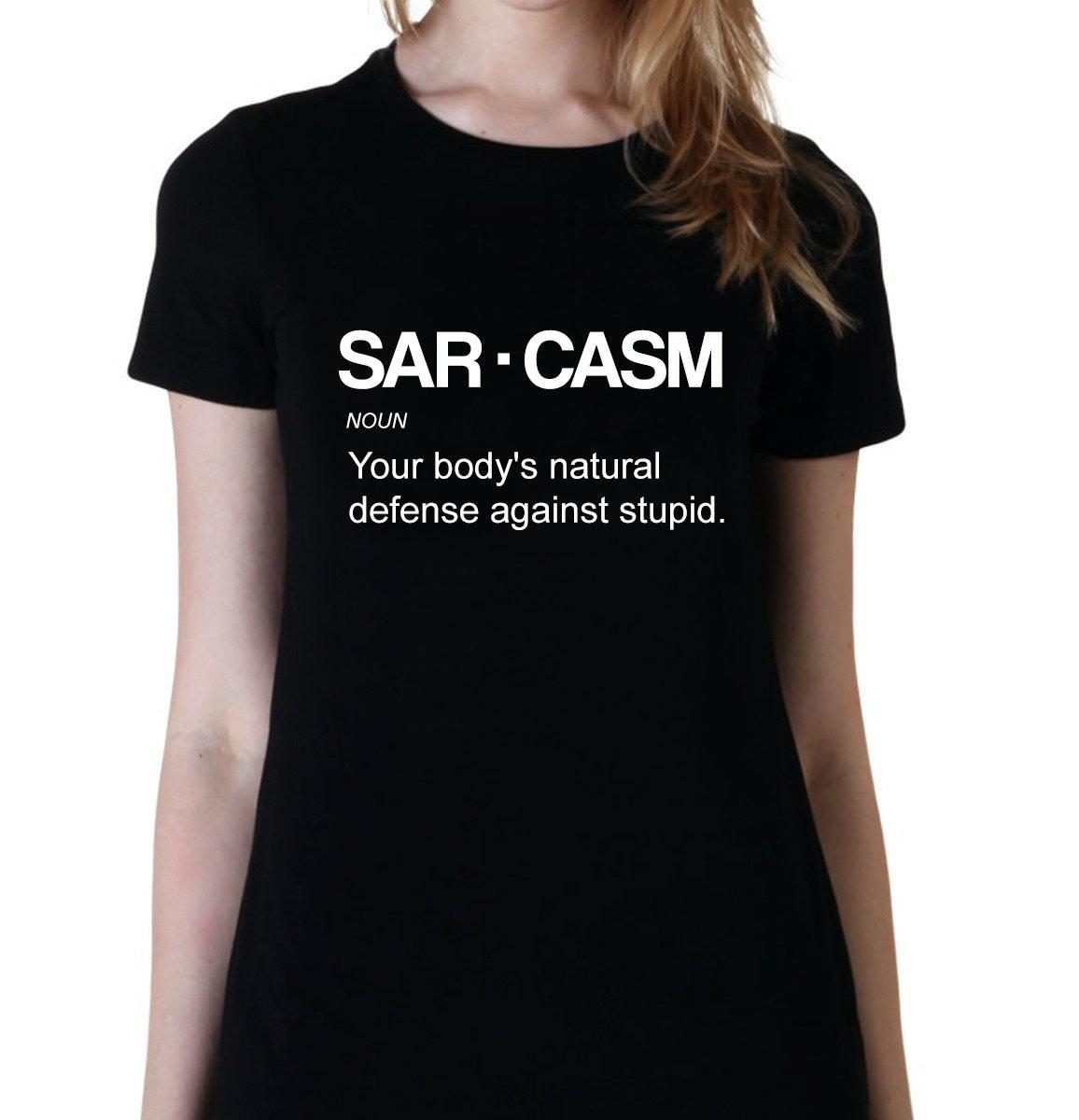 Sarcasm Definition Funny Sarcasm Shirts Sarcastic Shirt