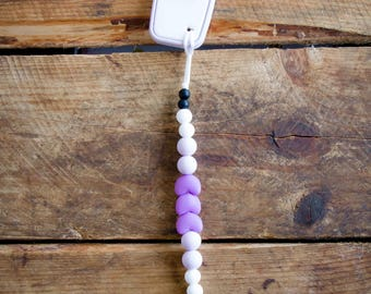 Milk Bottle Teether, Pacifier Clip, Soother Clip