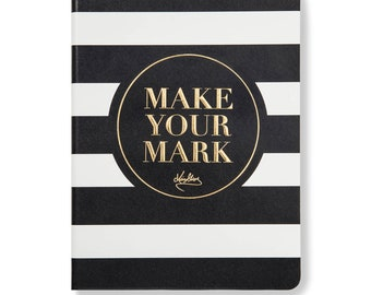 MAKE YOUR MARK leadership notebook (unique inspirational gift)