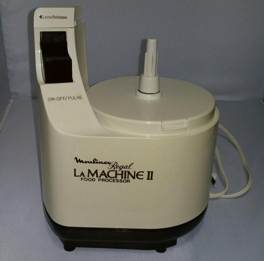 Vintage Moulinex Regal La Machine II LM2 Food Processor