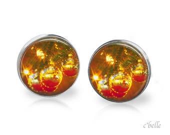 Earrings Christmastree Christmas-15