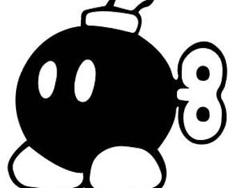 Bob-omb Vinyl Sticker