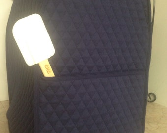 Build Your Own Navy Blue Pro Mixer Cover Quilted Fabric Small Appliance Covers Kitchen Mixer Covers Made to Order