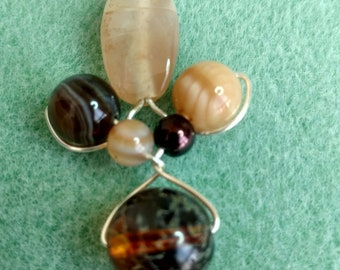 Polished Marble Pendent