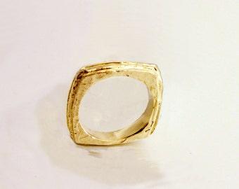 Square Wedding Ring
