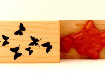 Tampon papillon papillons