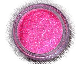 Hot Pink Disco Glitter, Non Edible Confectionary Glitter, Hot Pink Glitter, Superfine Glitter, Bright Pink Ultrafine Glitter, Pink Glitter