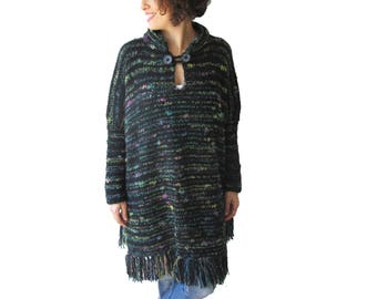 Long Sleeves Tunic - Plus Size - One of a Kind