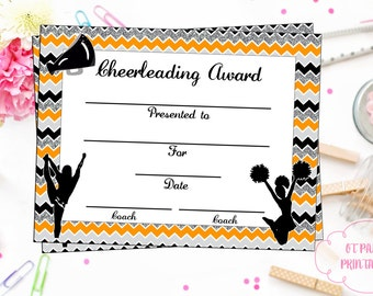 Baseball certificate of participation baseball award print cheerleading certificate cheerleading award cheerleading diy cheerleading printable cheerleading achievement end yadclub Image collections
