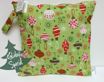 SALE* Medium Wet Bag - Wet Bag - 14 X 14 - O' Tinsel Tree
