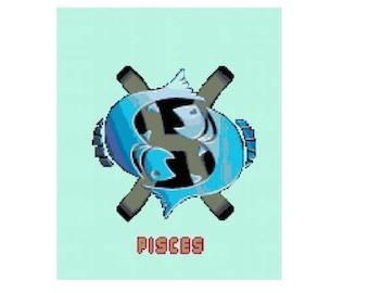 Pisces Cross Stitch Chart