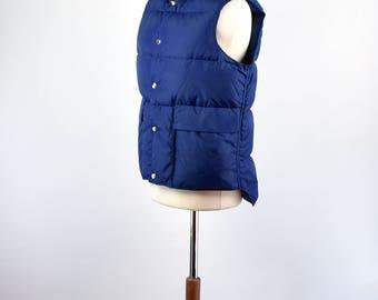 Men's Goose Down Insulated Vest by L.L. Bean Freeport, Maine - Size Medium