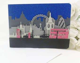 London Scene Card (can be personalised)