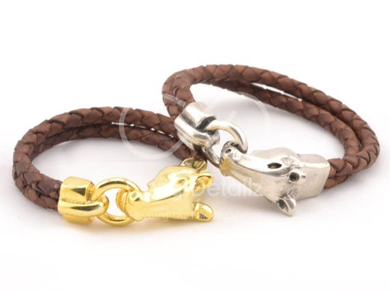 FATHERS DAY GIFT horse bracelet western jewelry mens braided