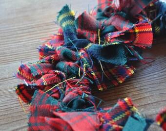 Bespoke Tartan Wreath - Choose Your Family Tartan - Scottish Heritage Gift, Scottish Christmas Decoration
