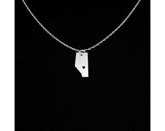 Alberta Necklace - Alberta Jewelry - Alberta Gift - Edmonton