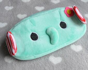 Soft elephant turquoise Kit