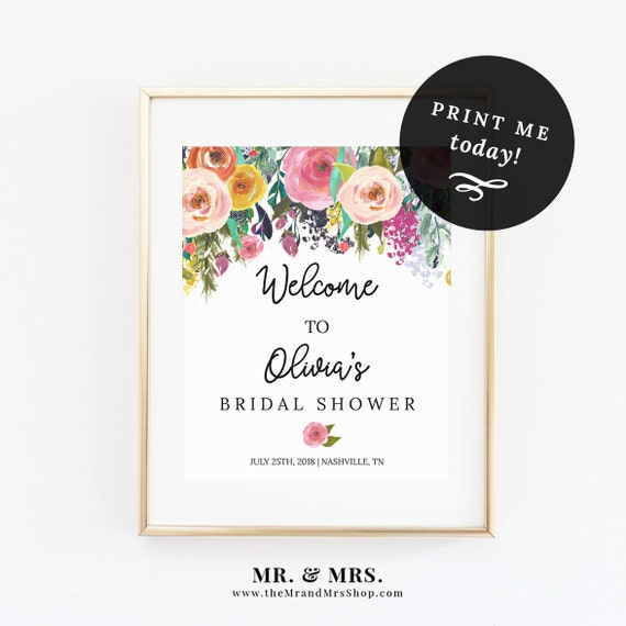 Universal image within welcome signs template