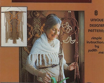 Macrame A Designers Collection Wall Art Hanging Patterns Craft Book