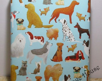 Dog Gift Wrap, Puppy Dog Gift Wrap, Wrapping Paper, Paper Table Runner, 10 feet long x 24 inches wide