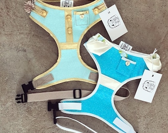 Pre-order - Limited Edition Cinderella and Prince Charming inspired harnesses- XS, S, M, L, XL & Custom