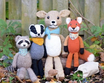 Backyard Bandits Knitting Pattern