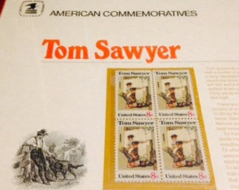 Tom Sawyer American Commemorative Stamps (set of four)