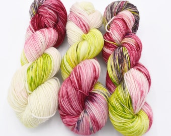 Rose Variegated - Hand Dyed Yarn Made to Order