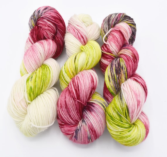 Things I loved in March - Rose by Dyeabolical Yarns