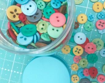 Cute Little Buttons Jar #2  by Lori Holt of Bee in my Bonnet