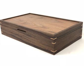 Custom Walnut Tea Box
