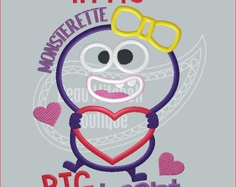 Little Monsterette Big Heart
