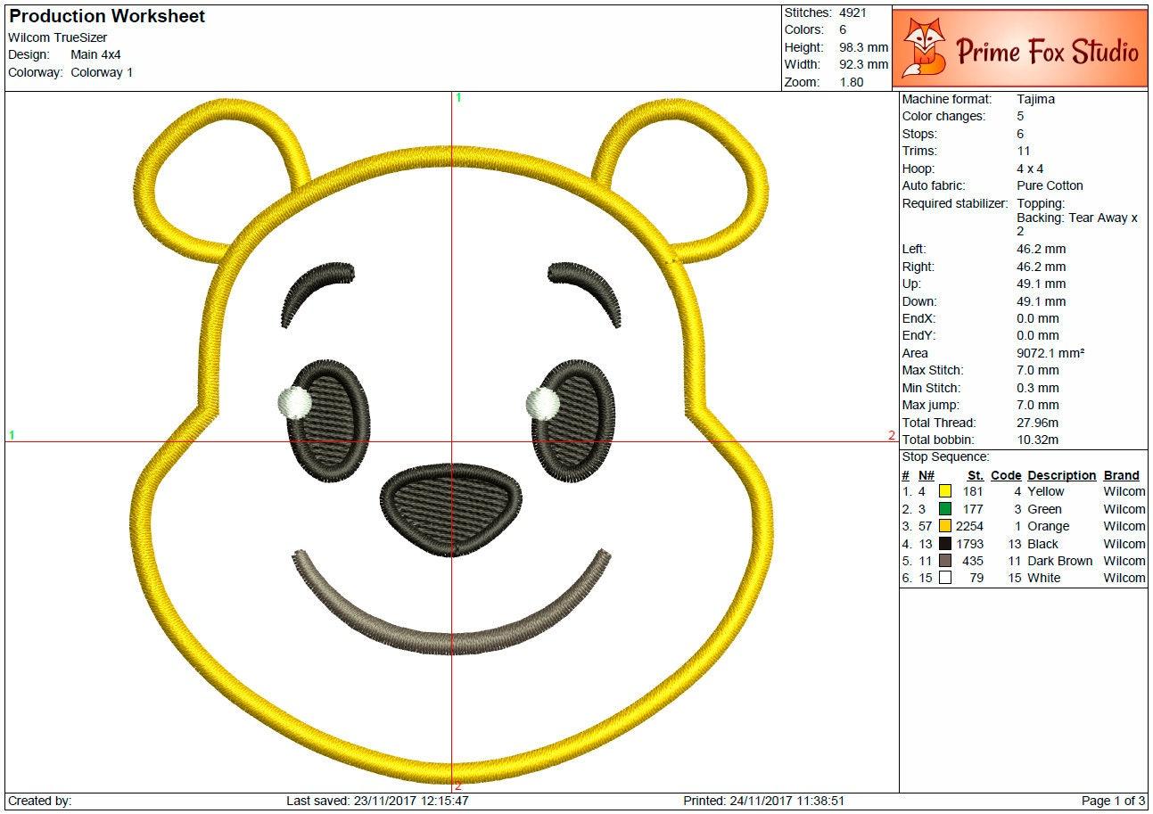 Winnie der Pooh Emoji Blitz Applikation Lächeln digitale Maschine ...