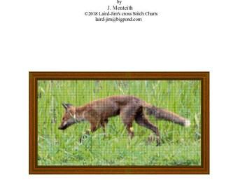 FOX - Cross Stitch Chart
