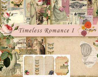 Timeless Romance I (Digital paper)