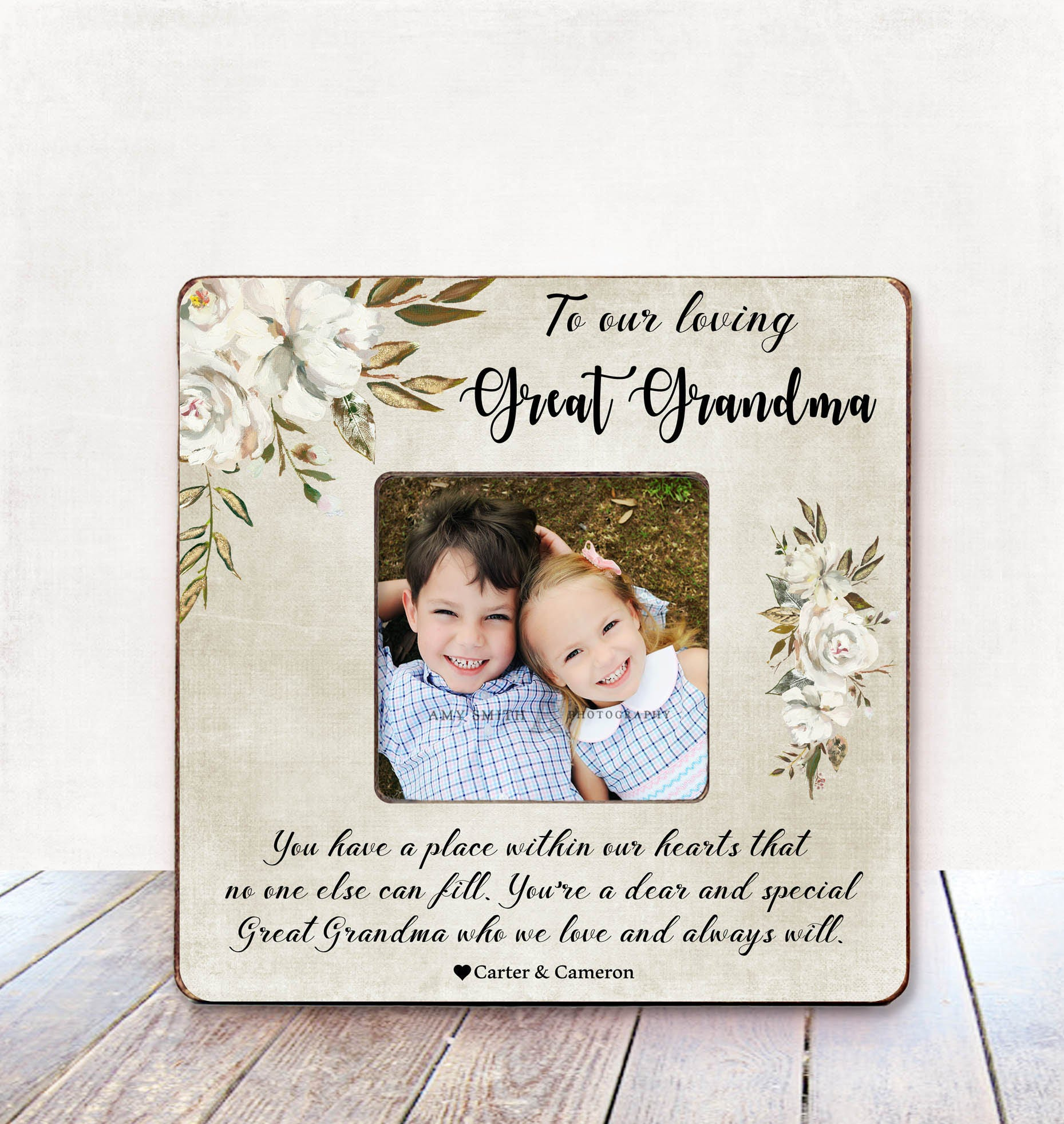 Great Grandma Gift Great Grandma Picture Frame Great