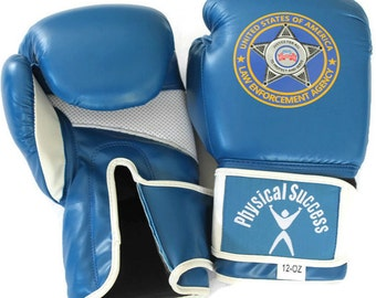 Police, Law Enforcement, Boxing Gloves. 12oz size.