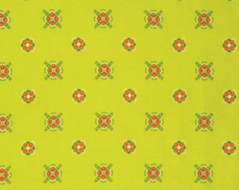 Fibs & Fables by Anna Maria Horner for Free Spirit - Cottage - Golden - 1/2 Yard Cotton Quilt Fabric 516