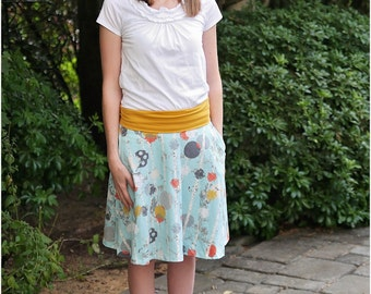 Seattle Skater Skirt: Women's Skirt PDF Sewing Pattern