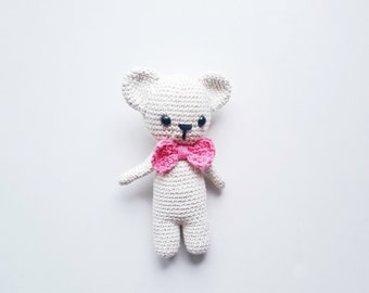 Amigurumi PATTERN- Crochet Bear Amigurumi Pattern-Amigurumi Animal Pattern