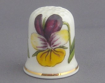 Portmeirion Thimble - Botanic Gardens - Heartsease