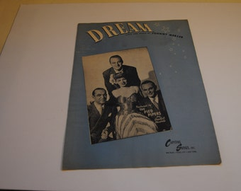 Dream/Vintage Sheet Music 1944/1945/Johnny Mercer