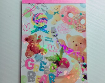 Mini notes made in japan collection kawaii