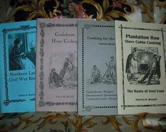 Cookbooks Civil War reproduction History 4