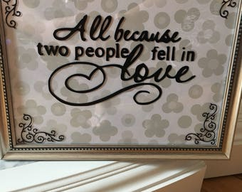 All because two people fellin love picture