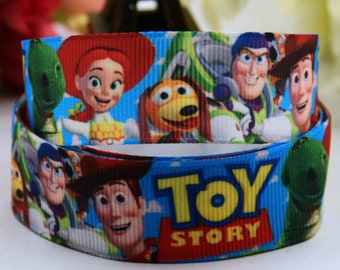 "Toy Story 7/8"" Printed Ribbon"