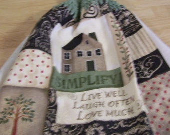 SIMPLIFY Crocheted Kitchen Towel